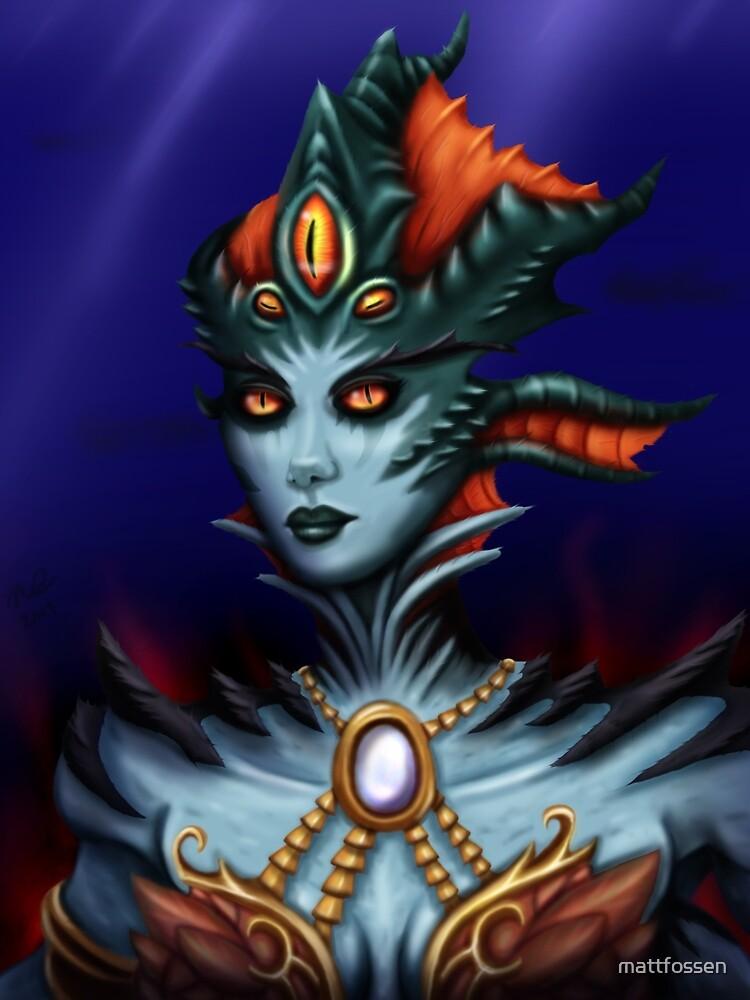 Queen Azshara by mattfossen
