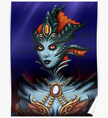 Queen Azshara Poster