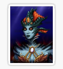 Queen Azshara Glossy Sticker