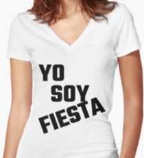 Yo Soy Fiesta Women's Fitted V-Neck T-Shirt