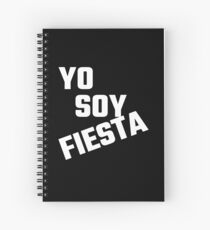 Yo Soy Fiesta Spiral Notebook