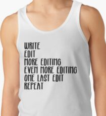 Writing, Edit forever Tank Top