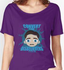 TESLA HEAD Women's Relaxed Fit T-Shirt