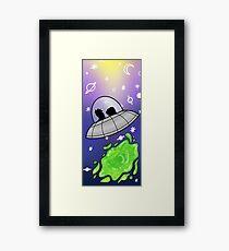 Galaxy travels  Framed Print