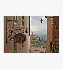 Il Grappolo Blu - Montalcino Photographic Print