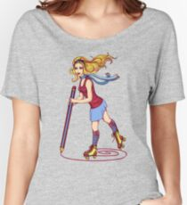 Roller Sketching Women's Relaxed Fit T-Shirt