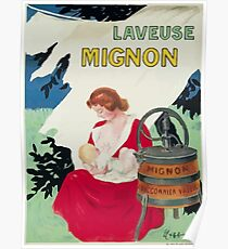 Leonetto Cappiello Affiche Laveuse Mignon Poster