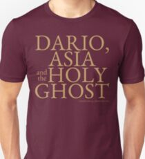 Dario, Asia and the Holy Ghost T-Shirt