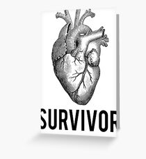 Heart Health Survivor Greeting Card