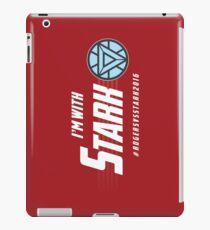I'm with: Stark iPad Case/Skin