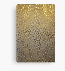 Golden Texture Canvas Print
