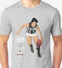 Bucky Cunningham of Port Adelaide (for grey shirts) Unisex T-Shirt