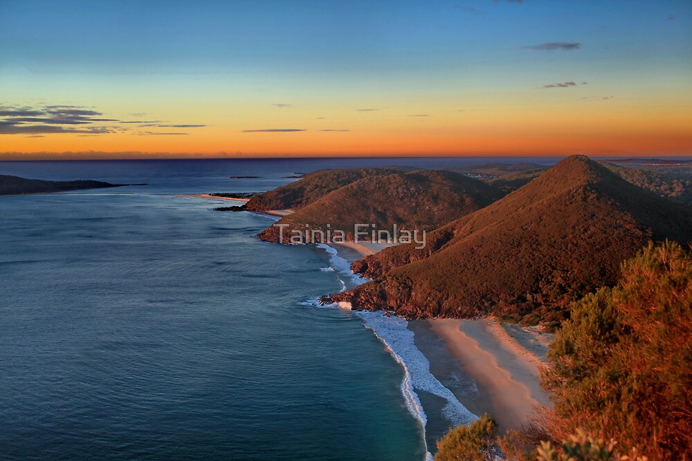 Tomaree Headland by Tainia Finlay