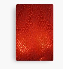 Red Abstract Background Canvas Print