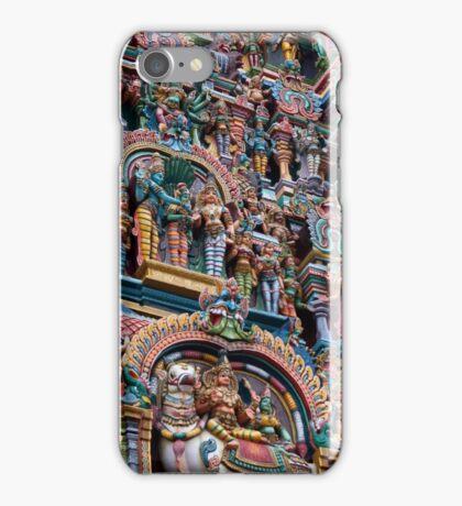 Shree Meenakshi Temple gate, Madurai, India iPhone Case/Skin