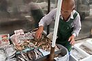 Onomichi fish stall by Glen O'Malley