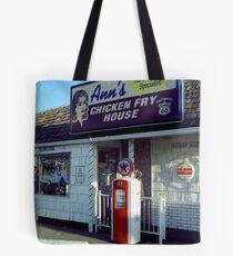Route 66 - Ann's Chicken Fry House Tote Bag