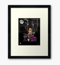 Scream Unplugged Framed Print
