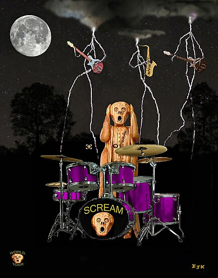 Scream Unplugged by Eric Kempson