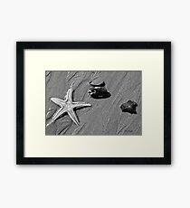 On the Beach #4 Framed Print