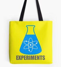 Beaker Chemistry Experiments Tote Bag