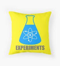 Beaker Chemistry Experiments Throw Pillow