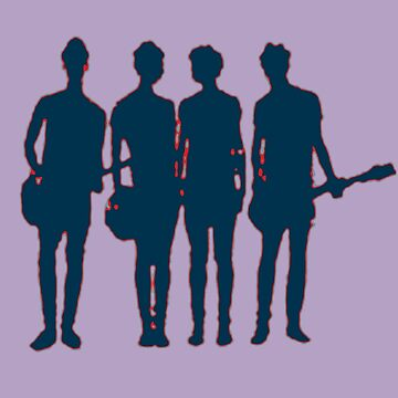 5 seconds of summer silhouette by Allibear87