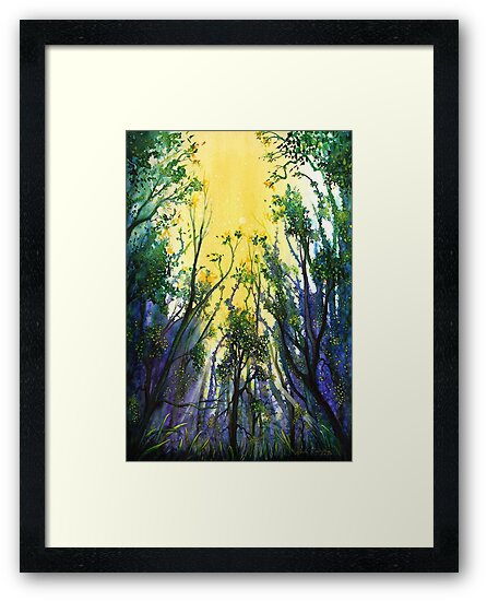 Forest Light by Linda Callaghan