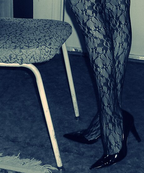 Uninspired, So Here's Some Legs and a Chair by Margaret Bryant