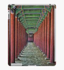 Courtyard Colonnade iPad Case/Skin