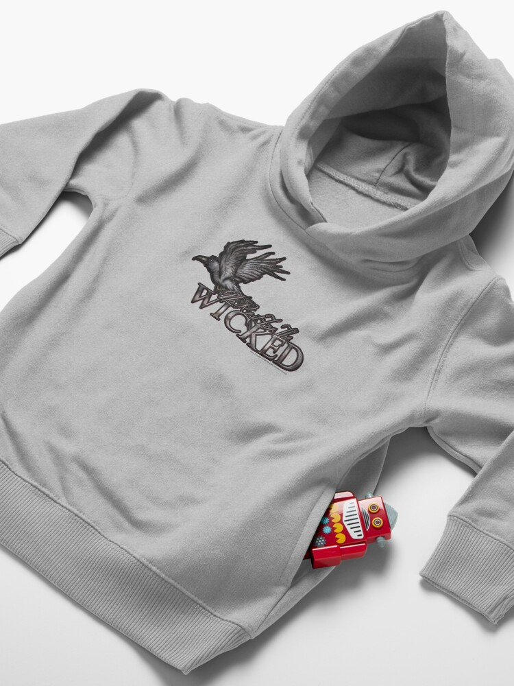 Alternate view of No Rest For The Wicked Toddler Pullover Hoodie