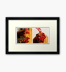4-52 Spicy Framed Print