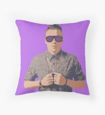 Mack Shutter Shades Throw Pillow