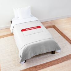 birthday Comforter