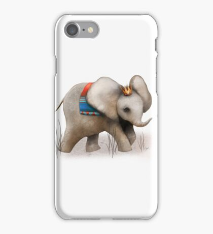 The Baby Elephant Prince iPhone Case/Skin