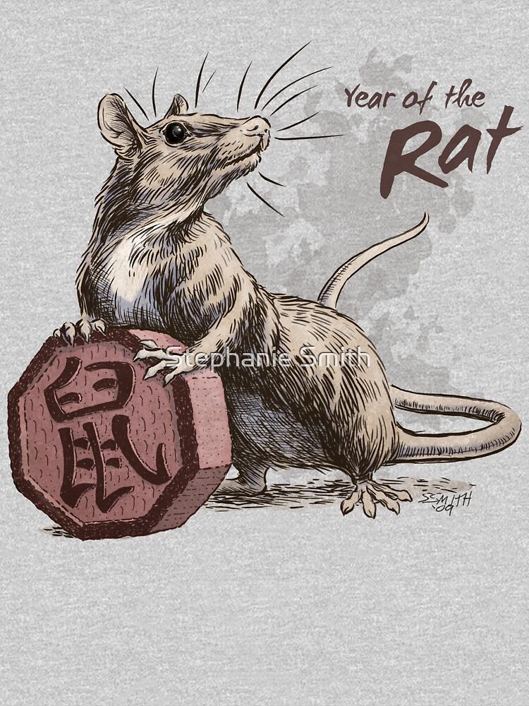 Chinese Zodiac - The Rat by stephsmith