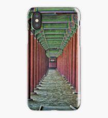 Courtyard Colonnade iPhone Case/Skin