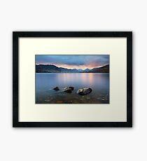 Loch Arklet Framed Print