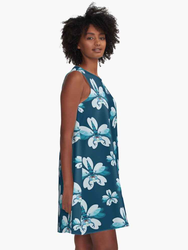 Alternate view of Dragonfly A-Line Dress