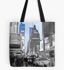 New York in Blue Tote Bag