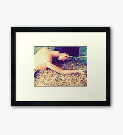 03-31-11:  It's So Hard When You Have No Leverage Framed Print
