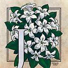 J is for Jasmine Card by Stephanie Smith
