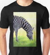 Zebra Grazing Unisex T-Shirt