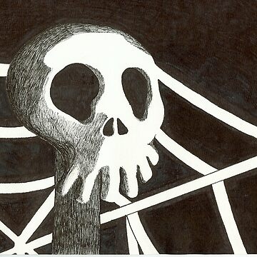 Pen Skull by wilosborne