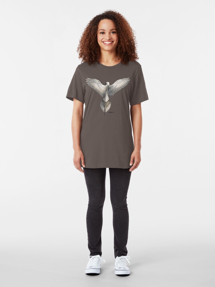 Alternate view of Mourning Dove Slim Fit T-Shirt