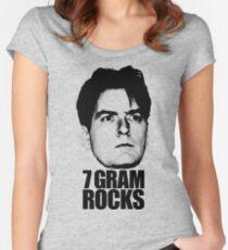 7 Gram Rocks Women's Fitted Scoop T-Shirt