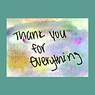 Thank You for Everything by Lisa Quenon