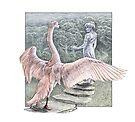 Leda and the Swan by Stephanie Smith