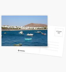 Costa Teguise bay Postcards