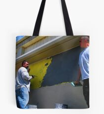 """""""GETTING PLASTERED""""  1 of SERIES Tote Bag"""